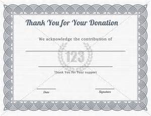 Donation Certificate Template by Donation Certificate Template Template Design