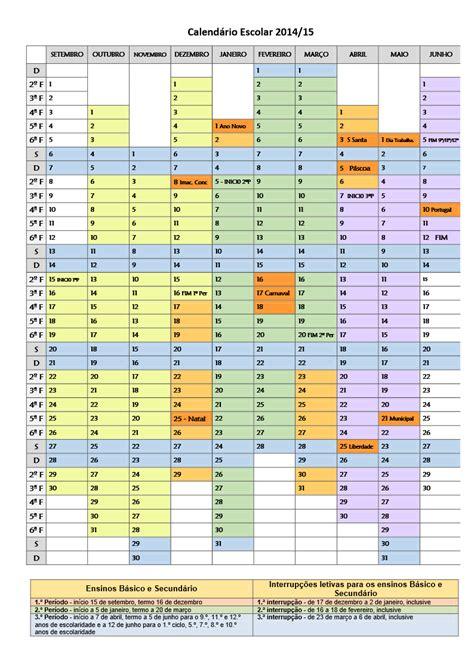 Calendã Escolar 2014 E 2015 Porto Editora Portugu 234 S Calend 225 Escolar 2014 2015