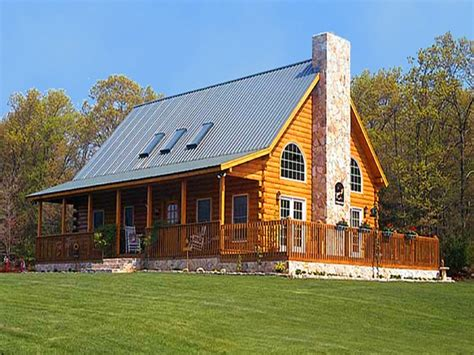 Log Cabin Style Home Plans by One Story Log Cabins Log Cabin Ranch Style Home Plans