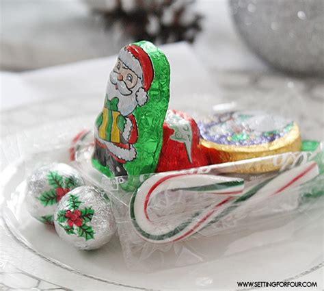 santa sleigh table decoration edible diy table decorations santa s sleigh