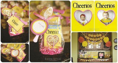 birthday themes for january kara s party ideas pink cheerios girl 1st birthday party