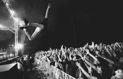 stage dive should stage diving be banned musicians respond news