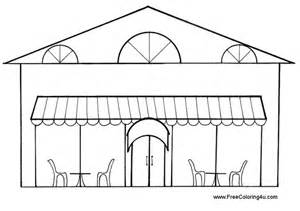 pics free coloring pages restaurants outline coloring restaurant sign coloring pages