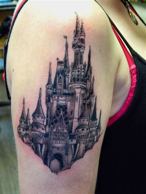 black magic tattoo designs disney cinderella s castle magic kingdom in