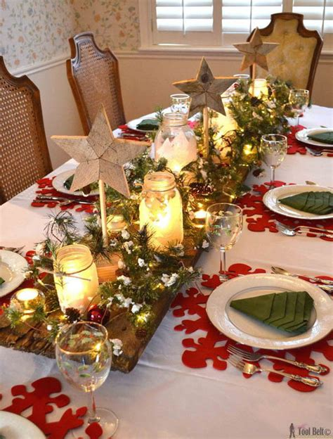 christmas table decorations most beautiful christmas table decorations ideas all