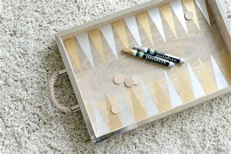diy tray diy backgammon game tray hello splendid