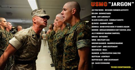marine corps slang for hair usmc pt uniform quotes