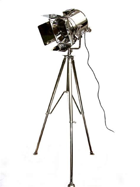 dane tripod studio spotlight floor lamp   himonly  store  mens