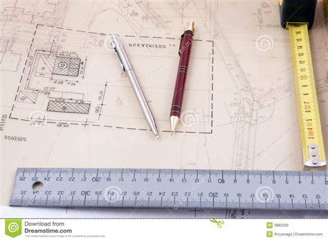 architecture design tool architectural design tools royalty free stock images