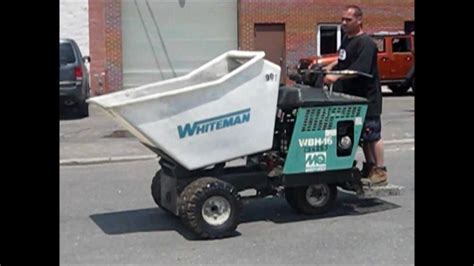 concrete construction equipments fast ride on whiteman concrete buggy gold equipment