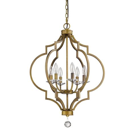 Bobeches For Chandeliers acclaim lighting peyton indoor 6 light brass