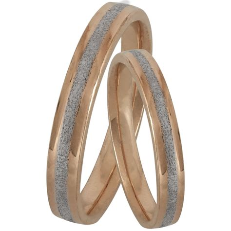 Bicolor Ring by Bicolor Silver Wedding Ring Wrs181dr Wedding Rings Gofas