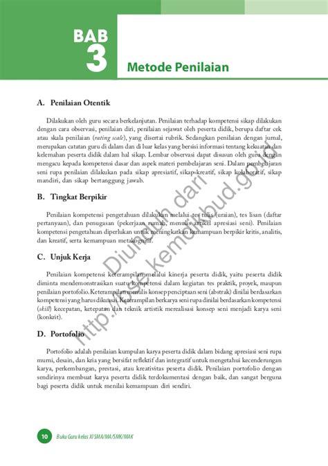 Buku Guru Seni Budaya Smamasmk Kelas 10 Diskon seni budaya buku guru
