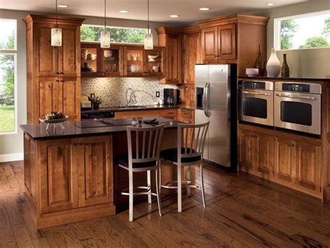 kitchen tidy ideas rustic hickory kitchen cabinets on pinterest making