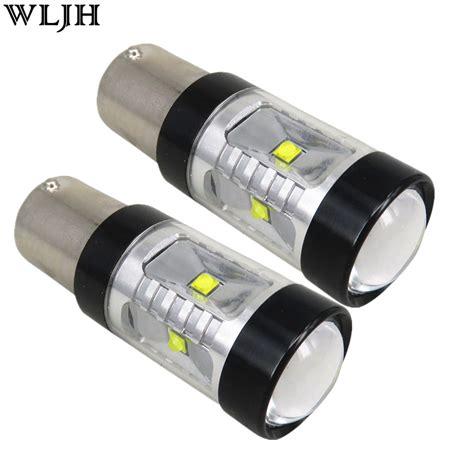 len led wljh 2pcs 30w 800lm s25 1156 ba15s led bulb p21w xbd led