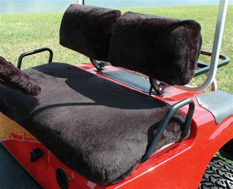 sheepskin golf cart seat covers stenten s golf cart accessories seat covers acrylic