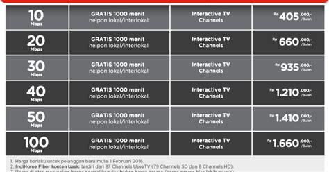 paket internet 60rb januari 2018 harga paket indihome bandung cimahi padalarang terbaru