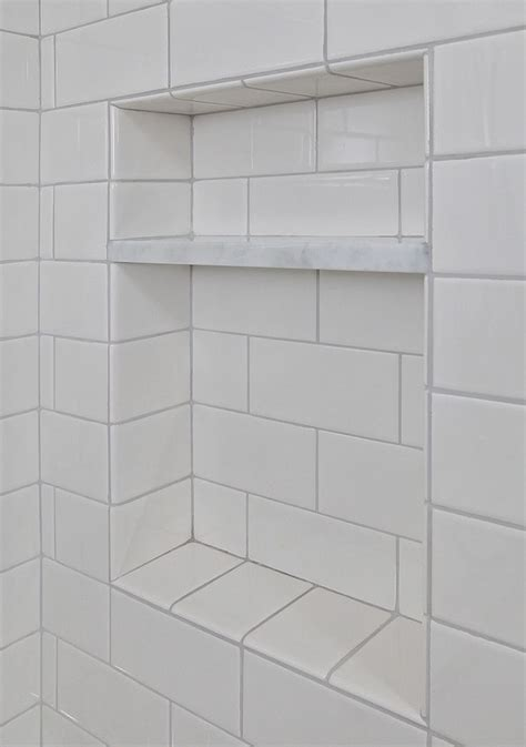 bathroom cubbies shower cubby bathroom beauty pinterest marble shelf