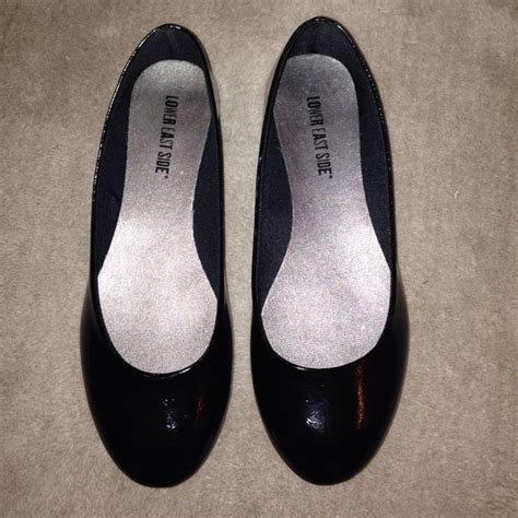 lower east side flats shoes 75 lower east side shoes simple black flats size 7
