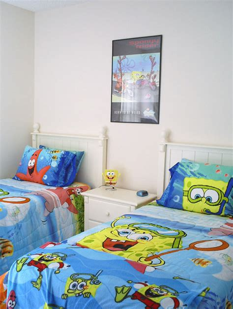 spongebob bedroom decor spongebob squarepants theme bedroom decorations ideas for kids
