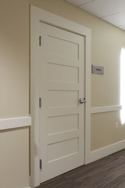 5 panel contemporary interior doors other metro by