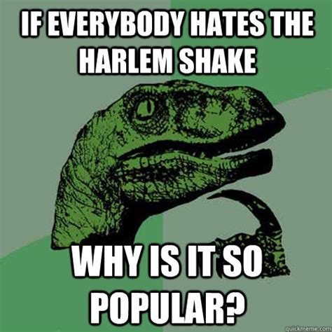 Harlem Shake Meme - if everybody hates the harlem shake why is it so popular