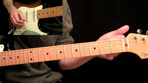 stevie ray vaughan pride  joy guitar lesson pt st   bar progressions youtube