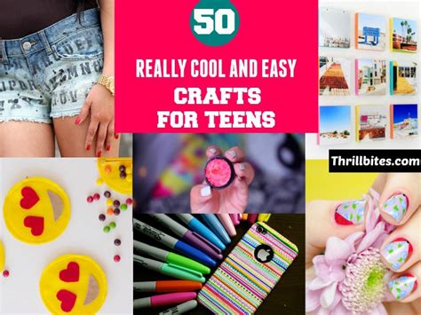 awesome diy crafts 50 really cool and easy diy crafts for thrillbites