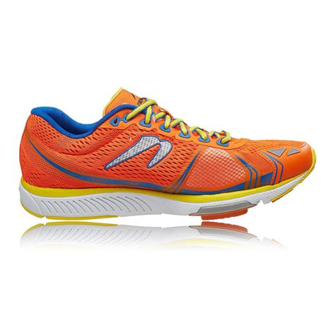 newton sneakers newton motion v mens orange blue sneakers running sports