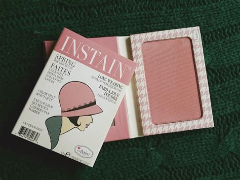 Thebalm Instain Houndstooth 6 5g ami s magic box review stila portrait of a
