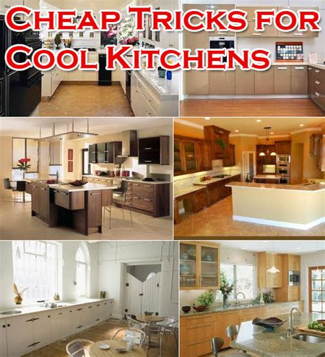 cheap kitchen makeover ideas cheap kitchen remodeling ideas