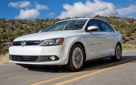 volkswagen jetta hybrid 2013 volkswagen jetta hybrid front three quarters in