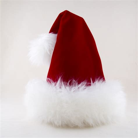 santa red velvet reversible hat hoho hats