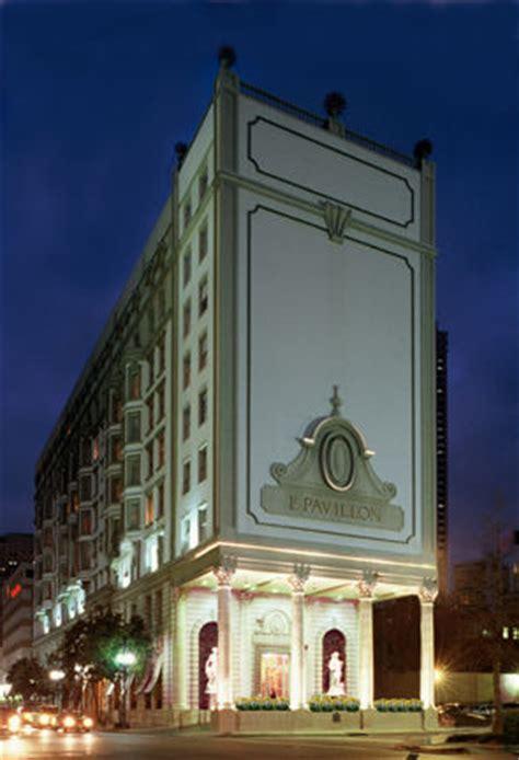 la pavillon find haunted hotels in new orleans louisiana le pavillon