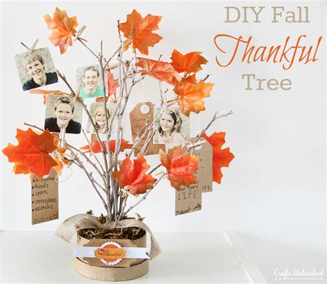 thankful tree craft for thankful tree diy family themed decor for fall