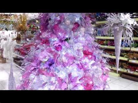 decoracion arboles de navidad 2017 blanco morado parte 4