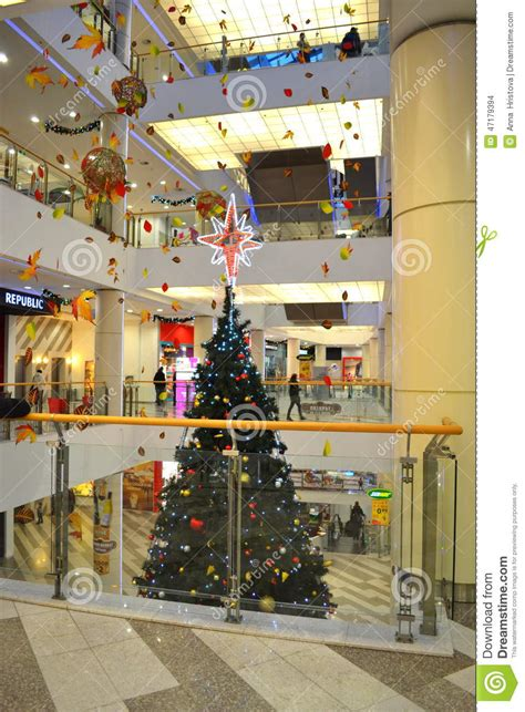 tree shopping shopping mall tree editorial stock image image