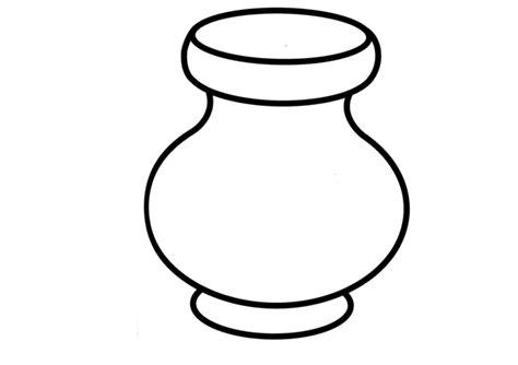 imagenes para colorear jarra dibujos de jarrones para colorear