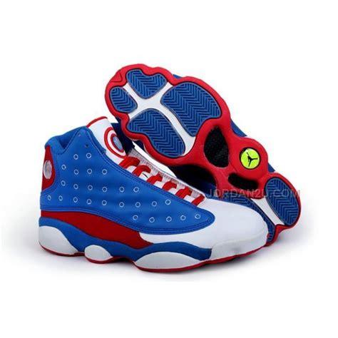jordon sneakers captain america nike 13 xiii retro mens
