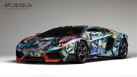 camo bugatti lamborghini aventador art design wraps by ws designs