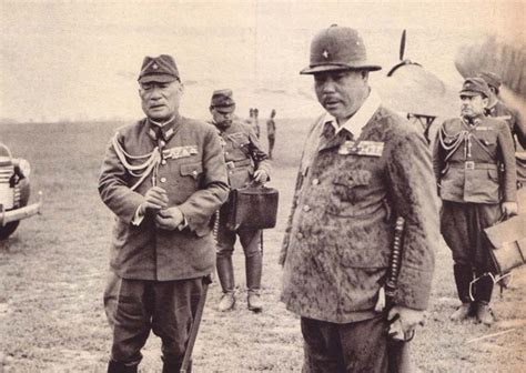 japanese generals japanese generals sugiyama and yamashita occupied china pre ww ii japanese expansion