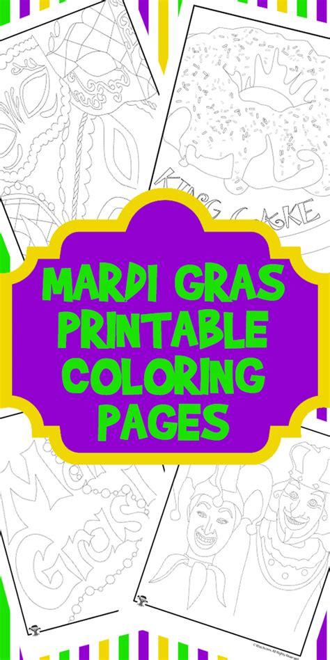 Mardi Gras Worksheets by Mardi Gras Printable Coloring Pages Woo Jr Activities