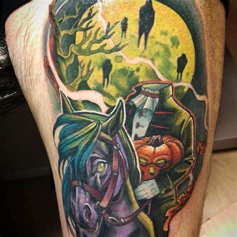 hollow leg tattoo 38 best sleepy hollow tattoos images on sleepy