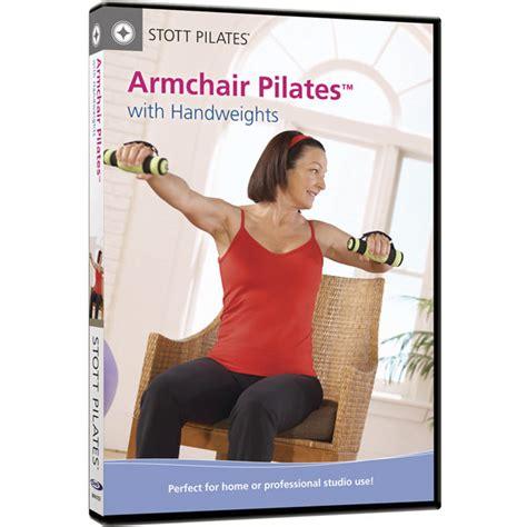 armchair pilates dvd armchair pilates with handweights merrithew