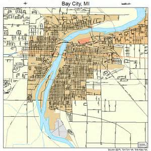 map of bay city bay city mi