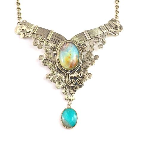Ha?as Art Jewelry Wirework Necklace