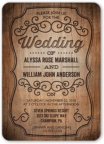 Tiny Prints Wedding Invitations by Invitations Custom Invitations Shutterfly
