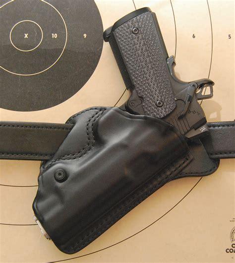 leather gun holster holster review blackhawk leather check six gun holster
