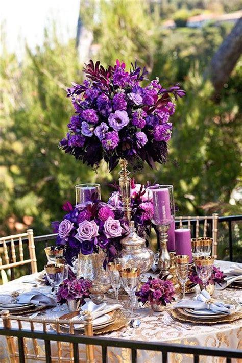 35 dark purple wedding color ideas for fall winter