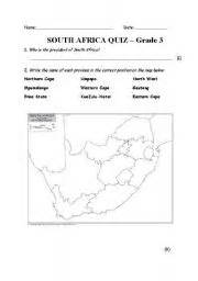 english worksheets for grade 3 south africa grade 6
